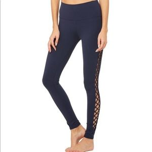 Alo Yoga Interlace Leggings Size Small